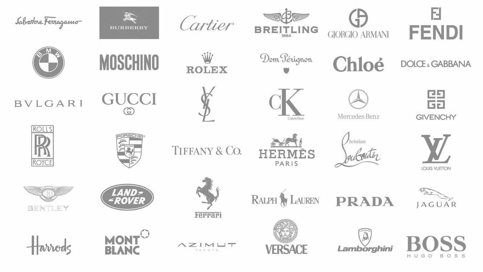 Fashion buying consultant | brand-list | Brands Melanie has purchase in the past and has ...
